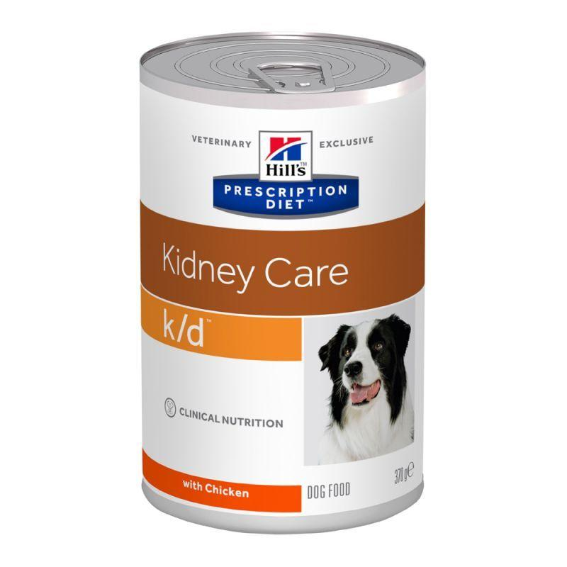 Hill's Prescription Diet k/d Kidney Care  370g Pollo Cibo Umido Per Cani