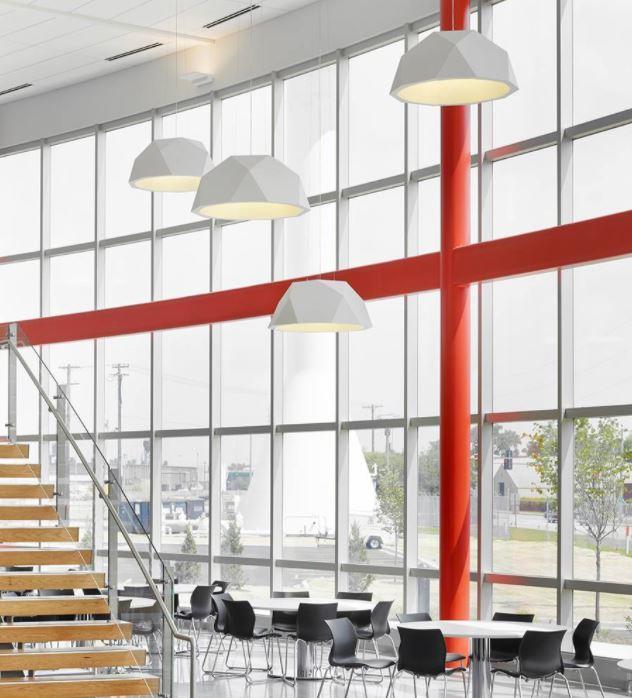 Lampada a Sospensione Crio di Fabbian in Alluminio con Diffusore Ø 180 cm in PMMA Opalino, Varie Finiture - Offerta di Mondo Luce 24