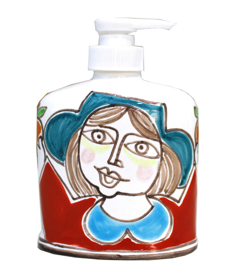 Dispenser Decoro Donna con arance