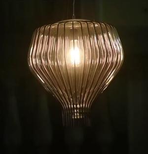 Lampada per Esterno Saya di Fabbian in Vetro Soffiato e Metallo Diametro 48 cm, Varie Finiture - Offerta di Mondo Luce 24