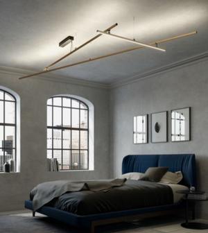 Lampada a Soffitto Freeline di Fabbian con Struttura in Alluminio e Corpo Illuminante Orientabile, Varie Finiture - Offerta di Mondo Luce 24