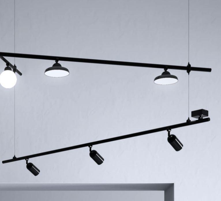 Kit Sospensione per Lampada Freeline su Misura di Fabbian con Struttura in Alluminio, Diverse Versioni - Offerta di Mondo Luce 24