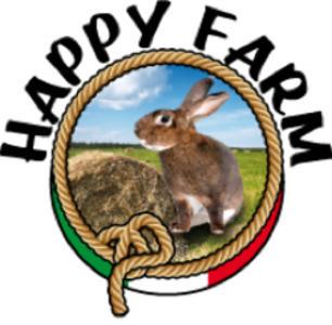 Happy Farm Fieno Naturale • 6 x 1 kg (Spedizione Express)