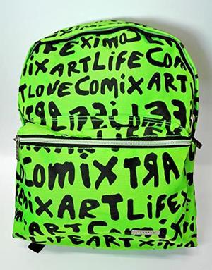 "Zaino COMIX verde linea ""LIFE ART"""