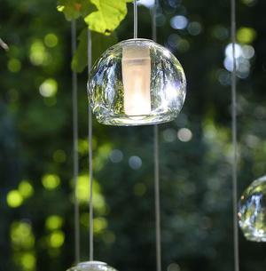 Lampada per Esterno Multispot Beluga di Fabbian ad 1 Luce con Diffusore in Vetro Cristallo Trasparente, Diverse Versioni - Offerta di Mondo Luce 24