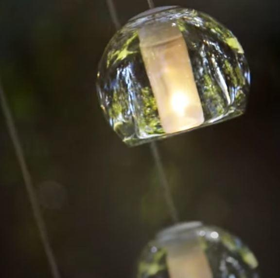 Lampada per Esterno Multispot Beluga di Fabbian a 30 Luci con Diffusori in Vetro Cristallo Trasparente, Diverse Versioni - Offerta di Mondo Luce 24
