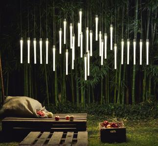 Lampada per Esterno Multispot Tooby di Fabbian a 5 Luci in Alluminio e Diffusori in Vetro Borosilicato Trasparente, Diverse Versioni - Offerta di Mondo Luce 24