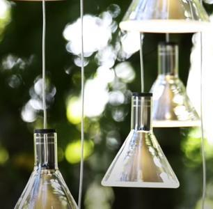 Lampada Multispot Polair di Fabbian a 20 Luci in Alluminio e Diffusore in Vetro Borosilicato Trasparente, Diverse Versioni - Offerta di Mondo Luce 24