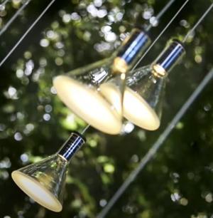 Lampada per Esterno Multispot Polair di Fabbian ad 1 Luce in Alluminio e Diffusore in Vetro Borosilicato Trasparente, Diverse Versioni - Offerta di Mondo Luce 24