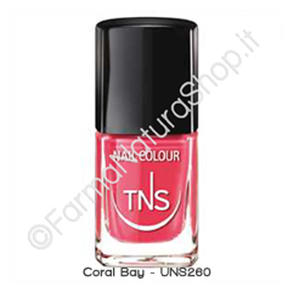 "TNS NAIL COLOUR ""CORAL BAY"" 260"