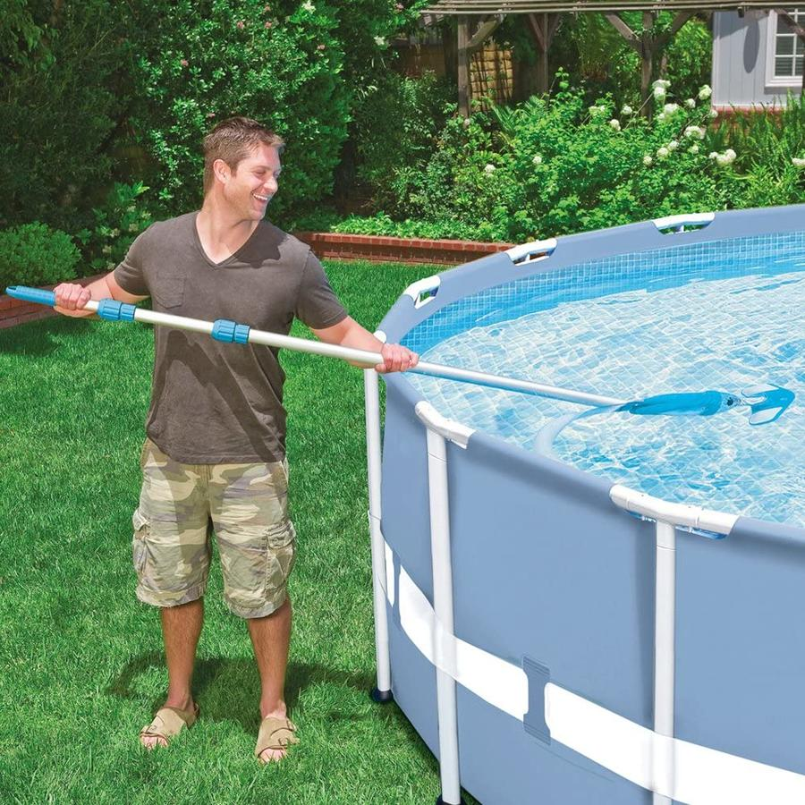 Kit set accessori retino pulizia manutenzione per piscina delux intex 28003