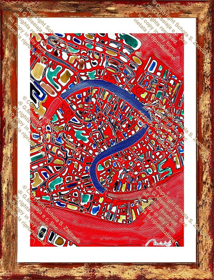 Interpretazione del Canal Grande laguna rossa (1973-2011)