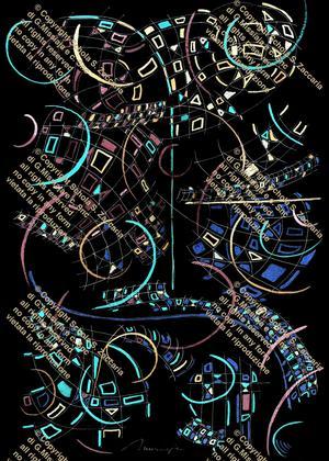 Movimento di Arlecchino by night
