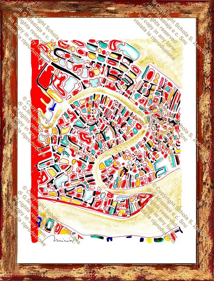 Interpretazione del Canal Grande Margine rosso (1972-2010)
