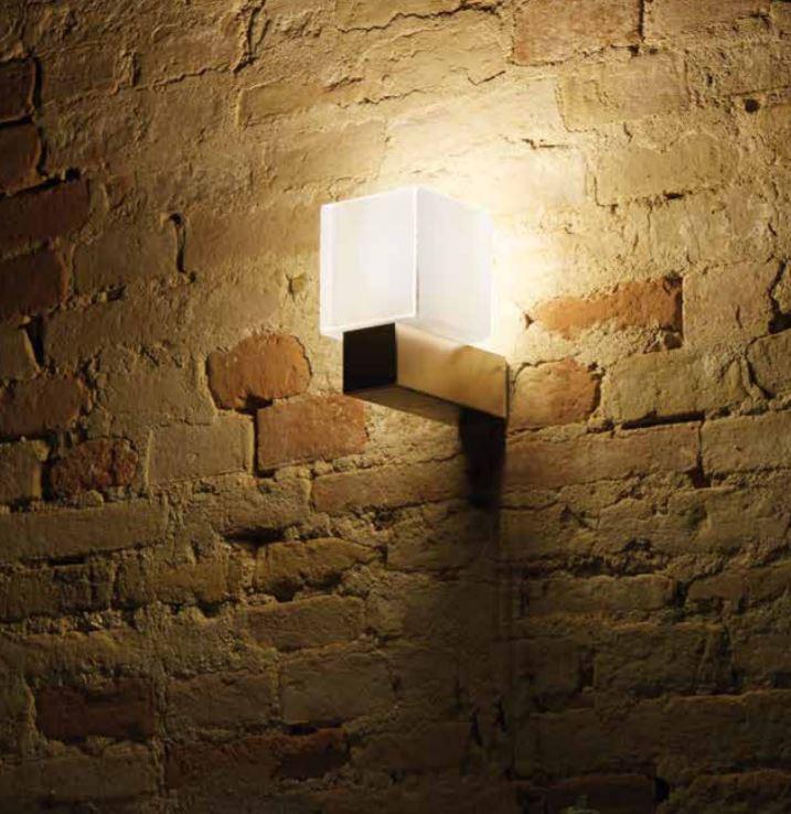 Lampada a Parete Didodado di Emporium in PMMA, Varie Finiture – Offerta di Mondo Luce 24