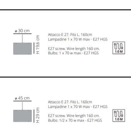 Lampada a Sospensione per Camerette Cylinder di Emporium in Sandylex con Texture e Metacrilato, Varie Misure e Finiture – Offerta di Mondo Luce 24