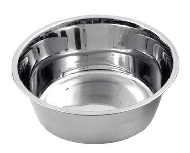 Ciotola in acciaio inox da 1800 ml lavabile in lavastoviglie