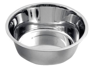 Ciotola in acciaio inox da 2800 ml lavabile in lavastoviglie