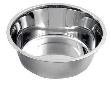 Ciotola in acciaio inox da 4000 ml lavabile in lavastoviglie