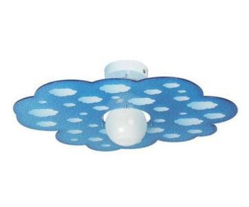 Lampada a Soffitto per Camerette Cloud di Emporium in Cristallo Acrilico Trasparente con Texture, Varie Finiture – Offerta di Mondo Luce 24