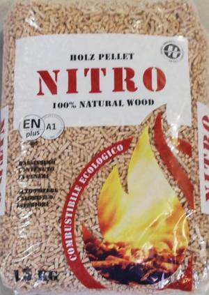 Pellet Nitro Sacco 15 Kg / Bancale