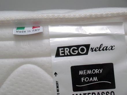 Materasso Memory Mod. Oceano Singolo 80x190/195/200 Altezza Cm. 22 - Ergorelax