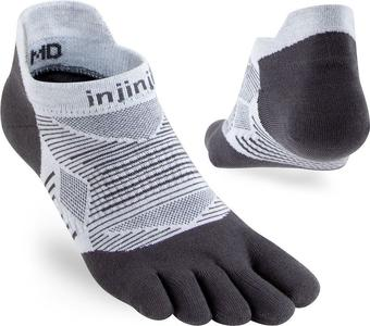 Calzini Injinji Run Light Weight No-Show New Grey