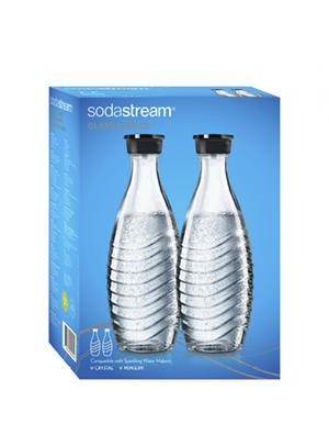 Bottiglie in Vetro 2 pz per Gasatori Sodastream