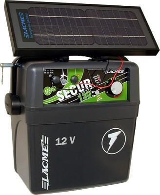 Elettrificatore Lacme Performance Secur130 + pannello solare 6W