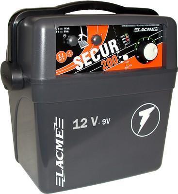Elettrificatore Lacme Secur200 12 V - 9 V -230 V