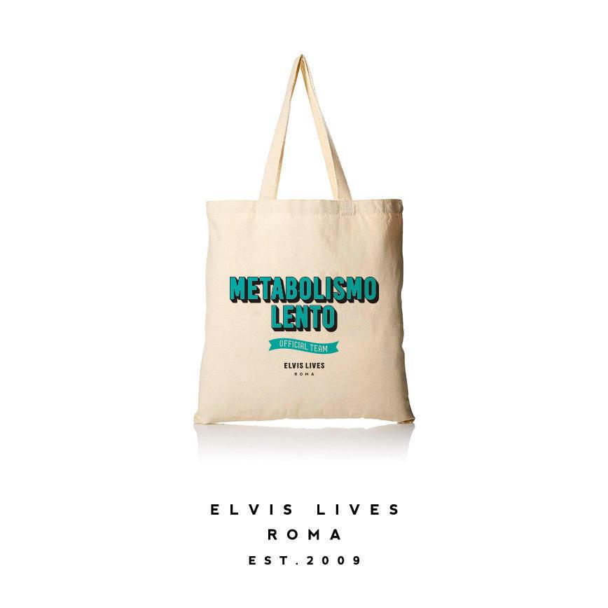 Elvis Lives Shopper Metabolismo - Teal