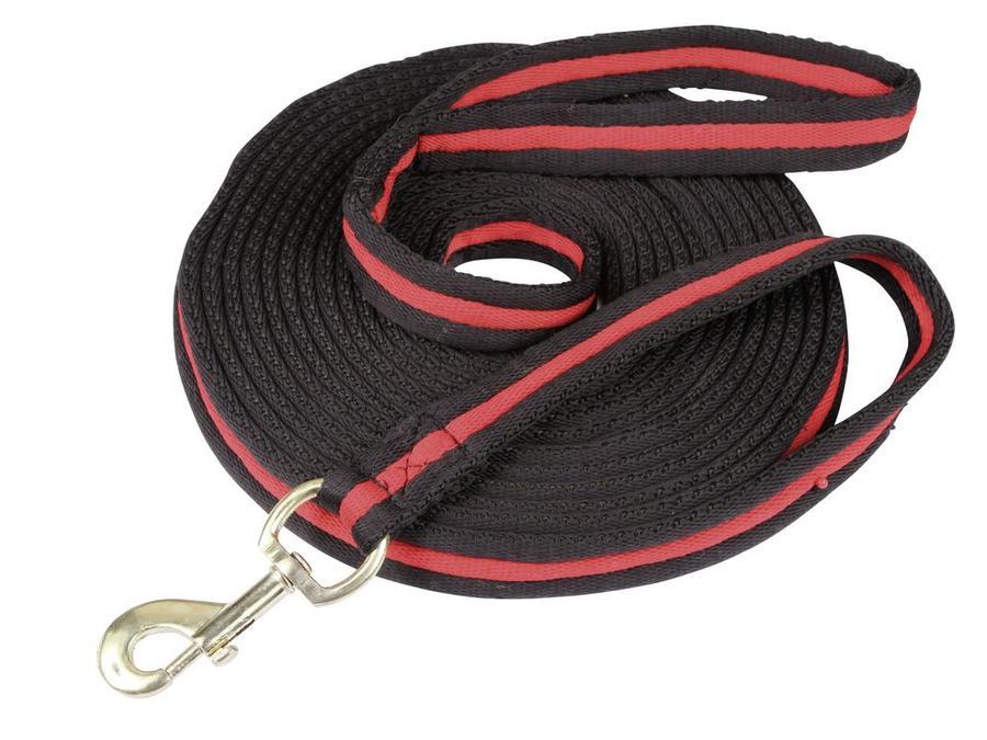 Lunghina softlonge nero/rosso 8 metri