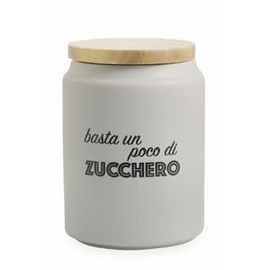 VILLA D'ESTE HOME TIVOLI Idee Barattolo Zucchero Con Coperchio In Gres E Bamboo