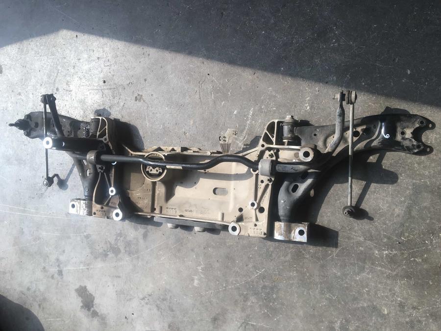 Telaio Avantreno Culla Motore con Barra Stabilizzatrice, Biellette e Bracci Oscillanti Volkswagen Golf 6  - 1K0199369F