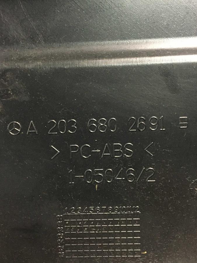 Vano Portaoggetti Mercedes W203- Classe C  - A2036802691