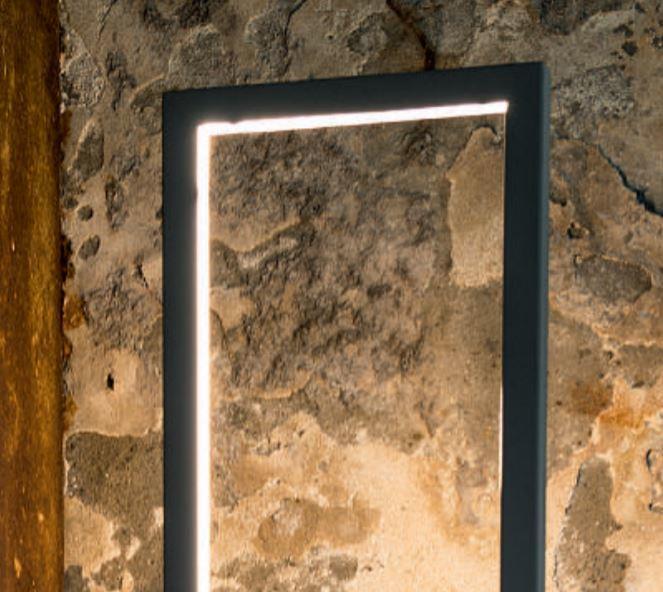 Lampada da Terra Ri_quadro di Febo con Struttura in Metallo, Varie Finiture - Offerta di Mondo Luce 24