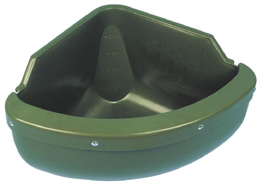 Mangiatoia Angolare Polietilene capacità 31 litri