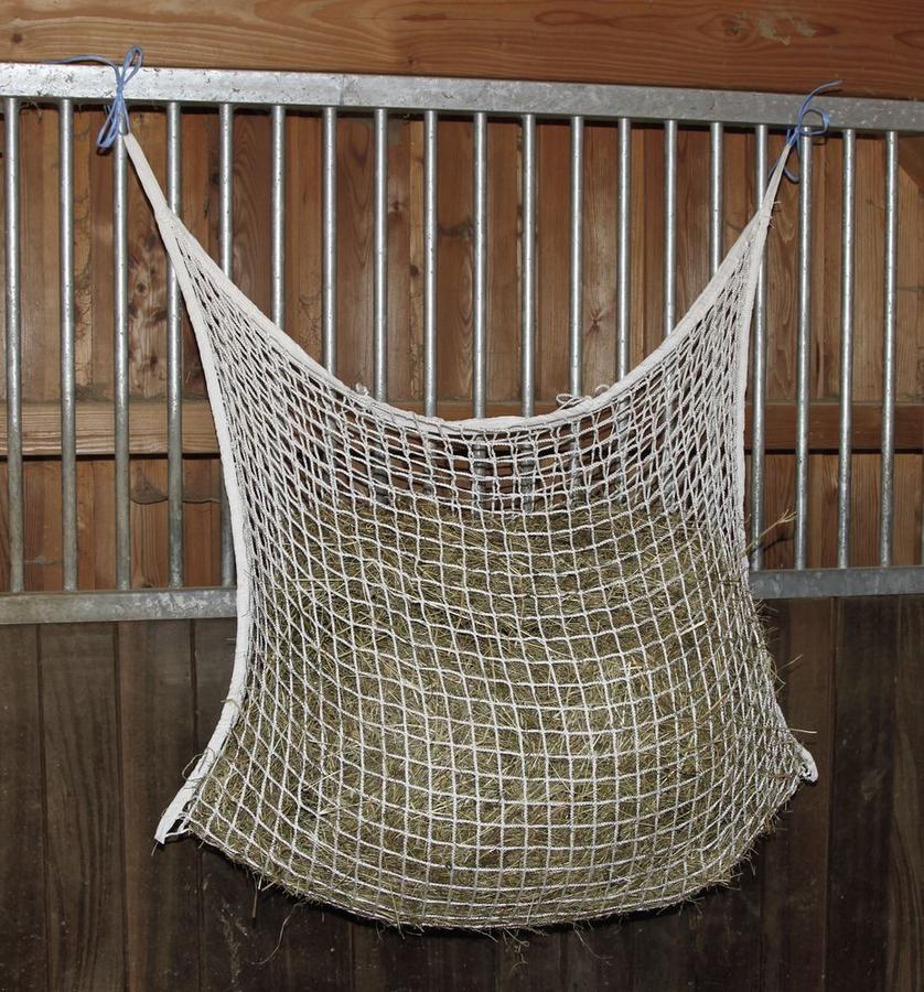 Rete per fieno per foraggiamento su 12 ore 120cmx90cm maglia 3x3