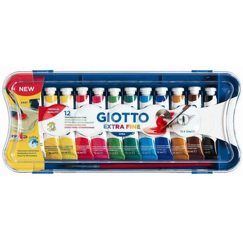 Giotto Fila scatola 12 tubi tempera 12 ml