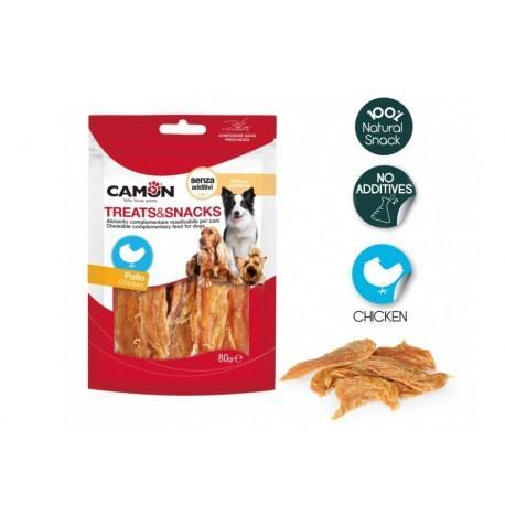 Camon AE035 Snack Per Cani Stick Masticabili Al Pollo Senza Additivi Naturali