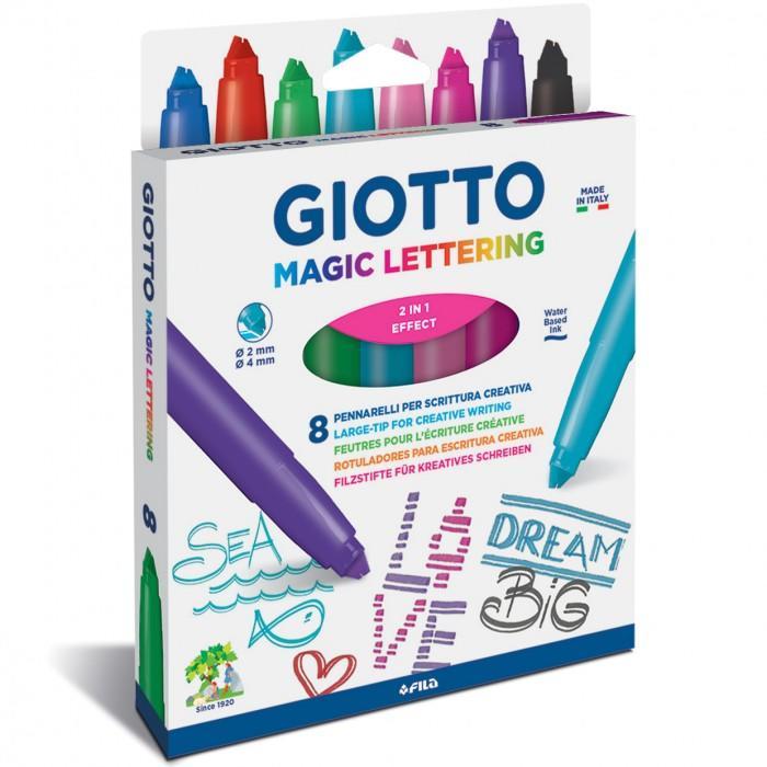 Fila Giotto Magic Lettering 8 pennarelli