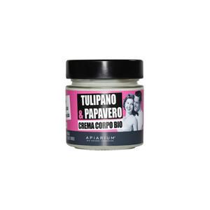 Apiarium - Tulipano & Papavero Crema corpo biologica