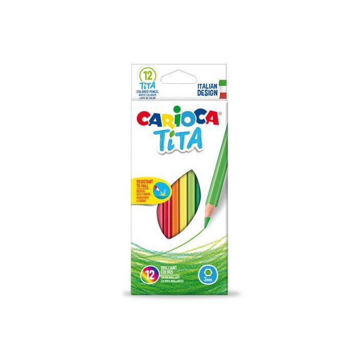 MATITE COLORATE CARIOCA TITA 12PZ