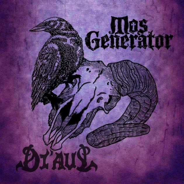 MOS GENERATOR / DI'AUL - Split (LP White Ltd)     Available from 30.10.2020