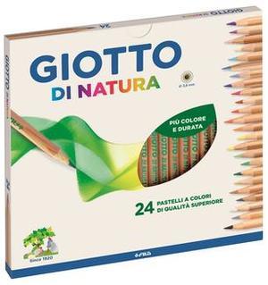 Pastelli Di Natura Giotto - assortiti - conf. 24