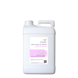tanica inchiostro da 4 litri dye light magenta compatibile per epson-hp-brother