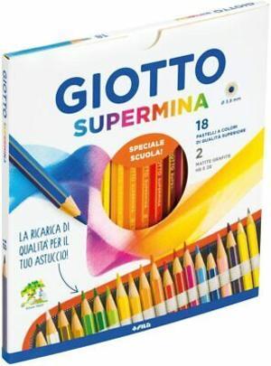 Fila Giotto Supermina 18 pezzi colori a matita