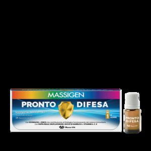 MASSIGEN PRONTO DIFESA - 14 flaconcini