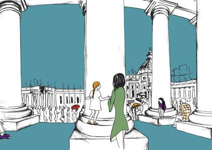 Studiovagante - Stampa Colonnato San Pietro 1