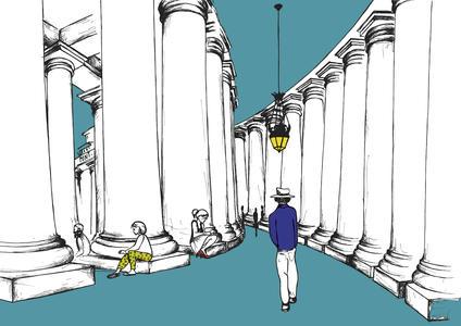 Studiovagante - Stampa Colonnato San Pietro 2